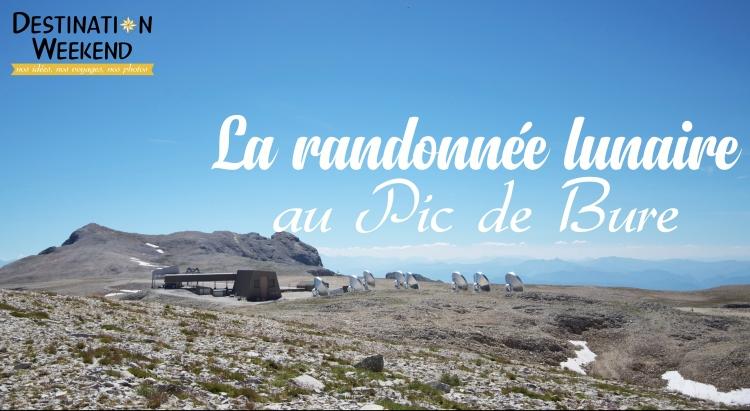 randonnée Pic de Bure - Dévoluy - Hautes-Alpes
