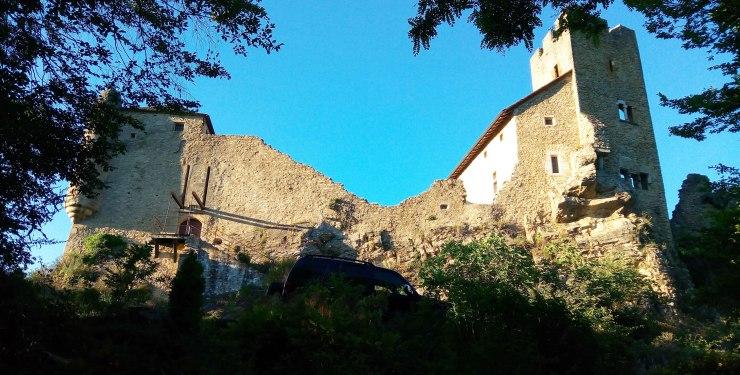 chateau médiévale de Vertrieu