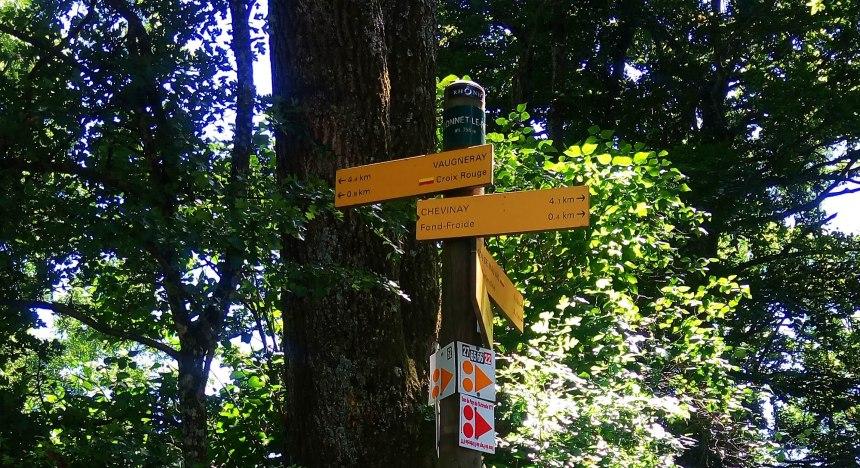 Direction Vaugneray au Col de la Luère