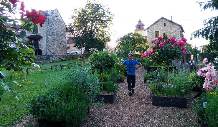 Le jardin des simples vertrieu