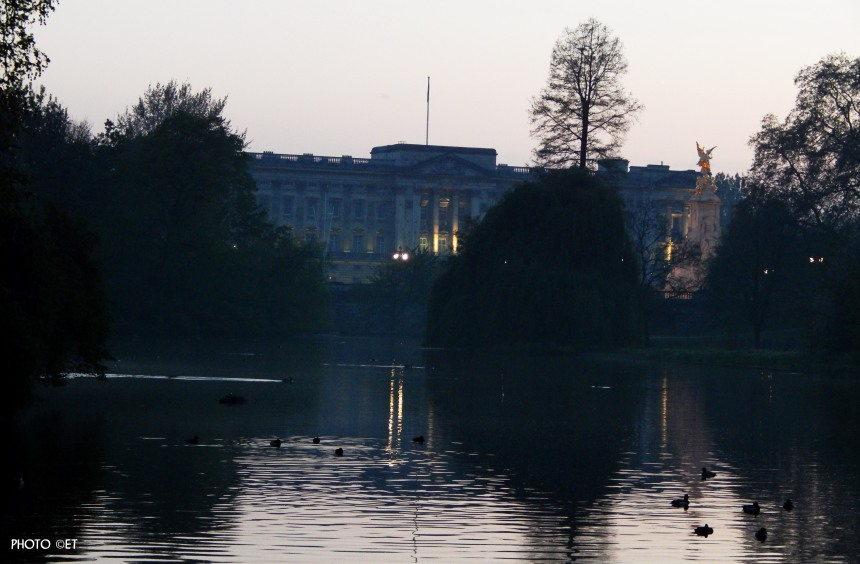 Buckingham palace, Londres - Photo ©ET