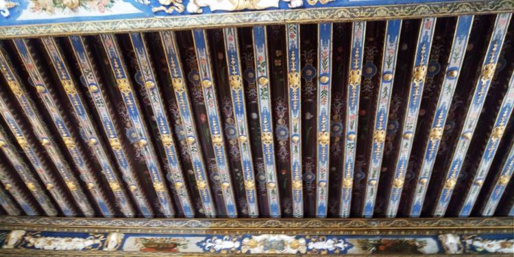 Plafond Château de Cormatin -Photo ©ET