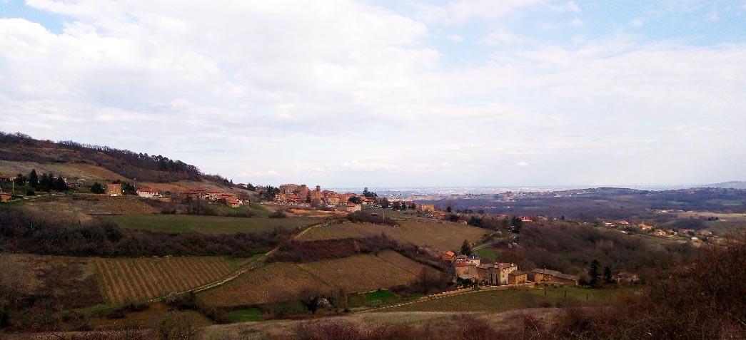 Village de Theizé, Pierres Dorées France