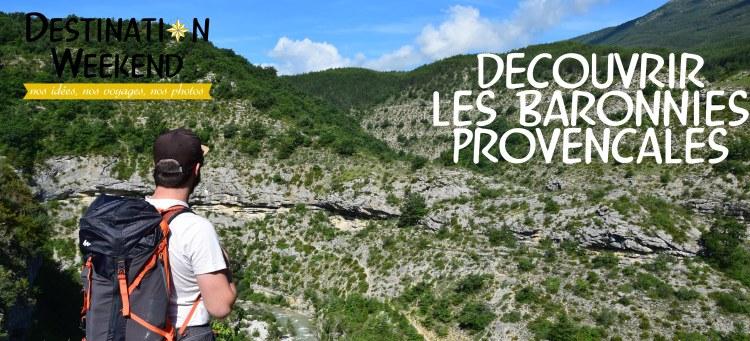 decouvrir le parc des baronnies provençales