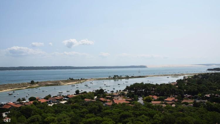 Vue depuis le Phare du Cap Ferret©ET