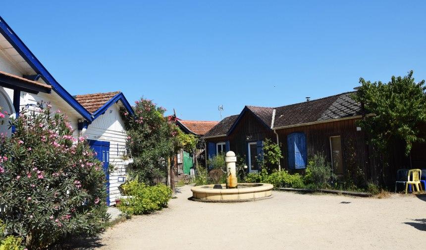 Quartier de l'Herbe, bassin Arcachon ©ET