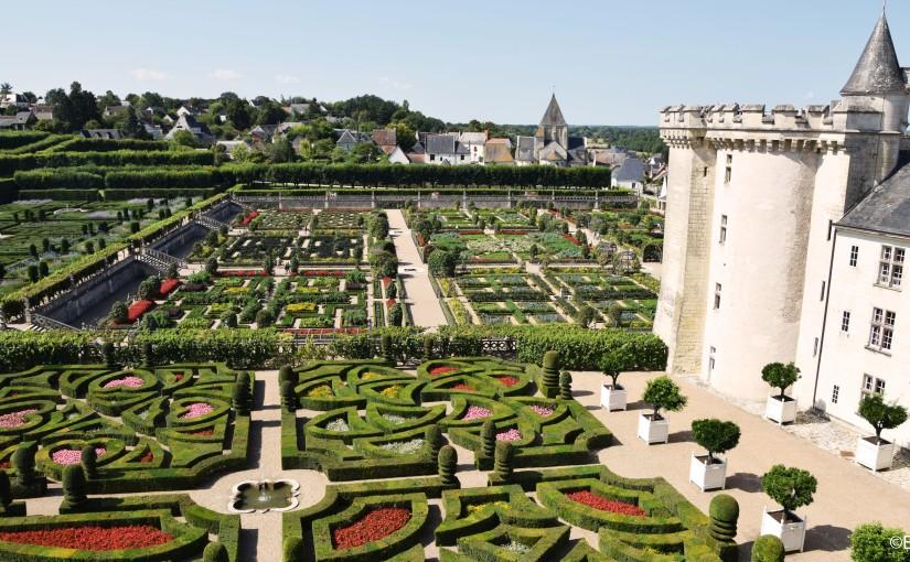 Destination le Château et les jardins deVillandry