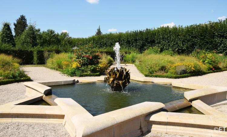 Jardin du soleil, Château de Villandry ©ET