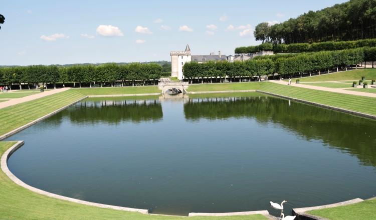 Jardin d'eau, Château de Villandry ©ET