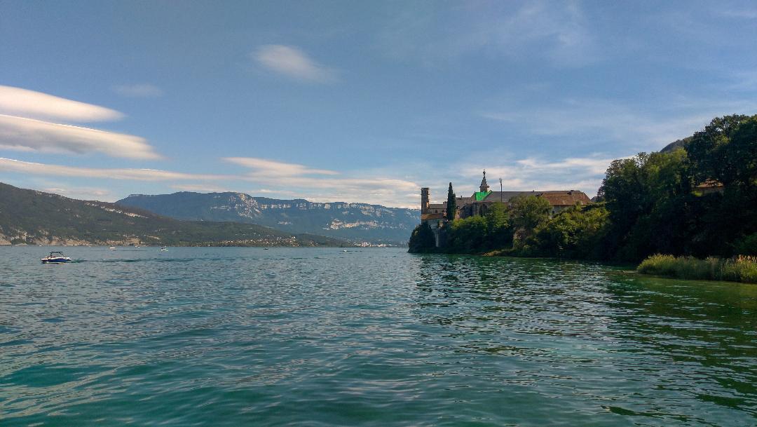 Abbaye de Hautecombe, sur le Lac du Bourget