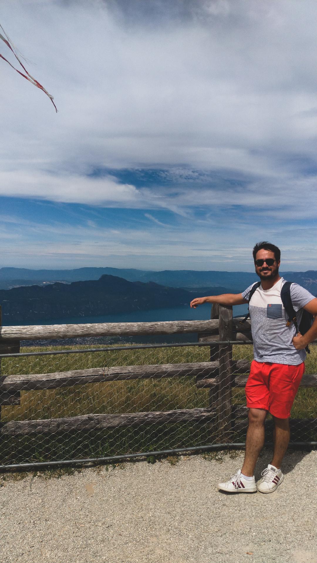 Belevédère du Mont Revard, au dessus du Lac du Bourget